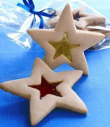 Stained Glass Cookie Ornaments 1