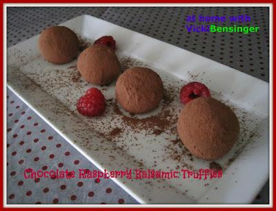 Chocolate+Raspberry+Balsamic+Truffles