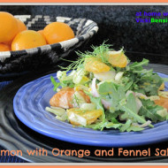 Salmon+with+Orange+and+Fennel+Salad