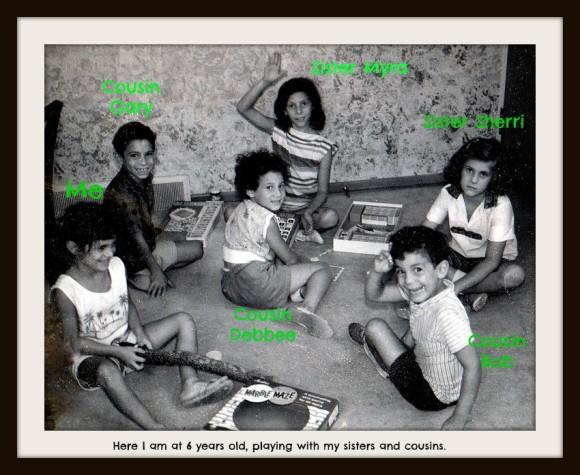 Katz girls with Golbart kids 1