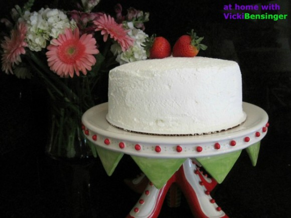 Strawberry Custard Cassata Cake 1 (620)