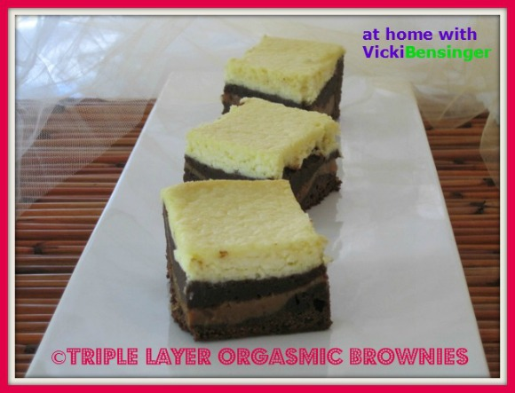 Triple Layer Orgasmic Brownies 520