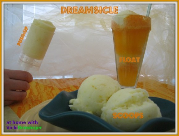 Dreamsicle Ice Cream