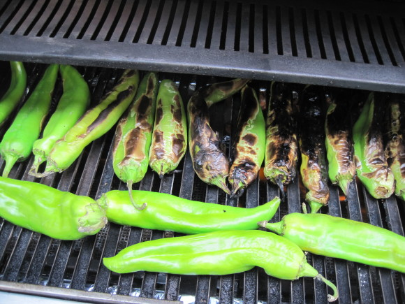Charred Hatch Chile's