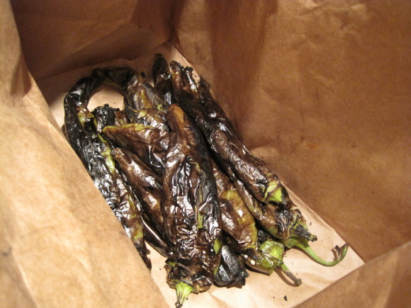 Roasted Hatch Chile's