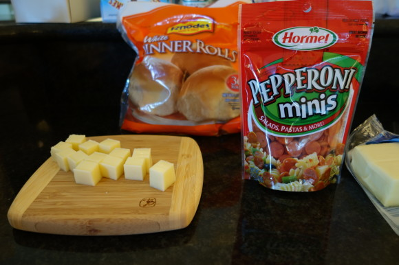 Ingredients for Monkey Bread Pizza Bites 002