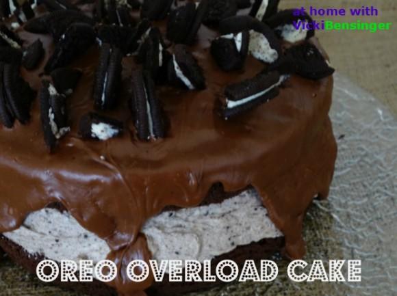Oreo Overload Cake