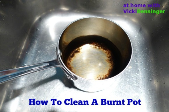How to clean a burnt pot cooking and recipes - Clean burnt grease oven pots pans ...