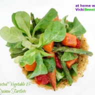 Roasted Vegetable and Quinoa Tartlets