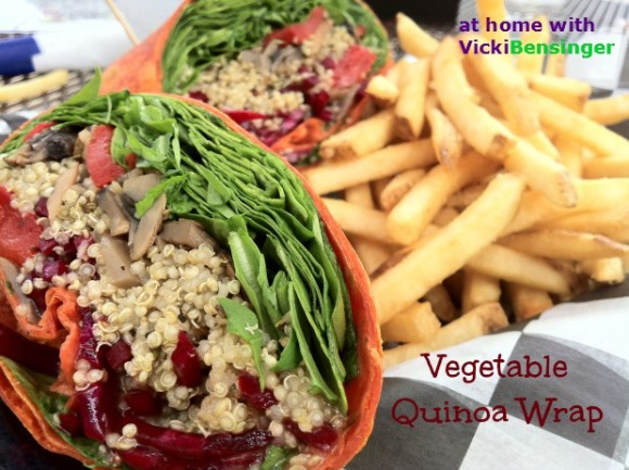 Vegetable Quinoa Wrap
