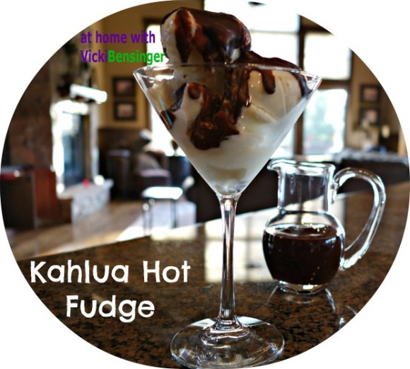 Kahlua Hot Fudge