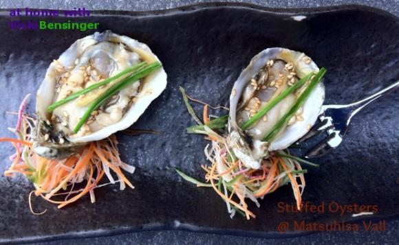sushi 2 stuffed oysters