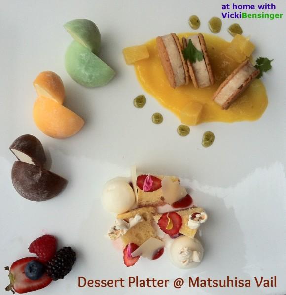 sushi 8 dessert platter