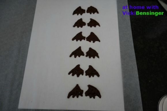 Bat Wing Stencils finished