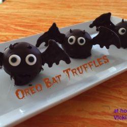 Oreo Bat Truffles
