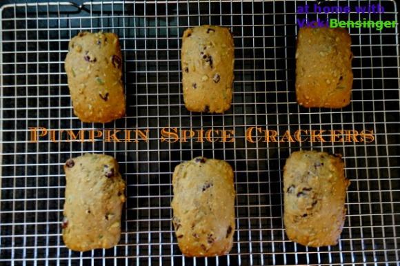 Pumpkin Spice Crackers 3