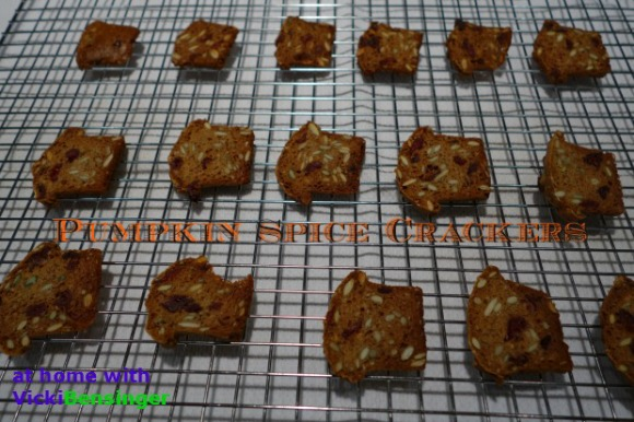 Pumpkin Spice Crackers 5
