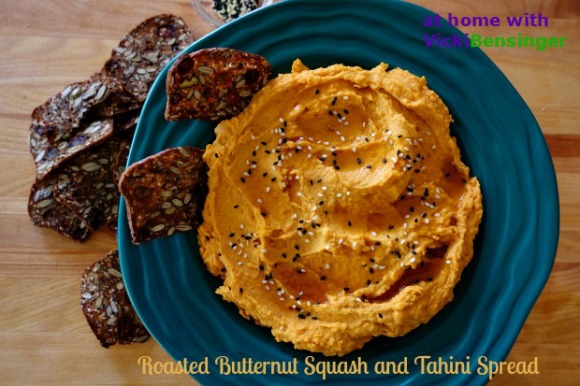 Roasted Butternut Squash and Tahini Spread