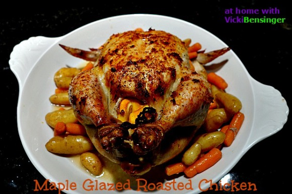 Maple Glazed Roasted Chicken