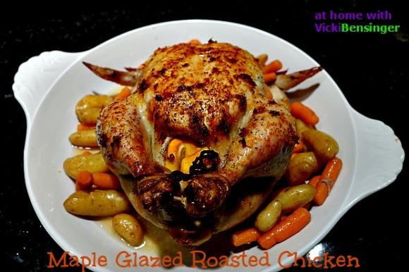 Maple Glazed Roasted Chicken