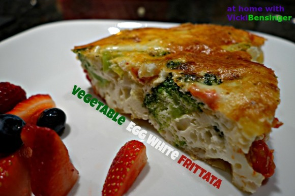 Vegetable Egg White Frittata