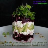 Towering Roasted Beet Salad