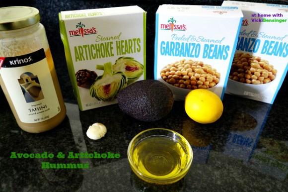 Avocado & Artichoke Hummus