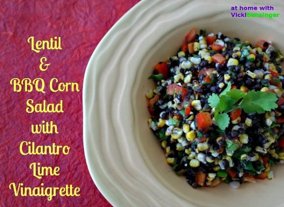 Lentil & BBQ Corn Salad