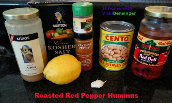 Roasted Red Pepper Hummus 1