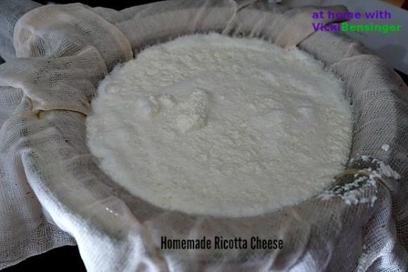 Homemade Ricotta Cheese 2