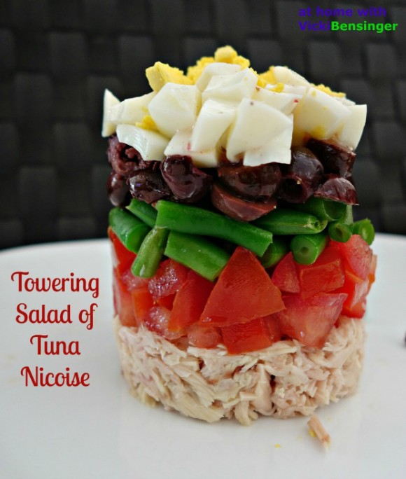 Towering Salad of Tuna Nicoise