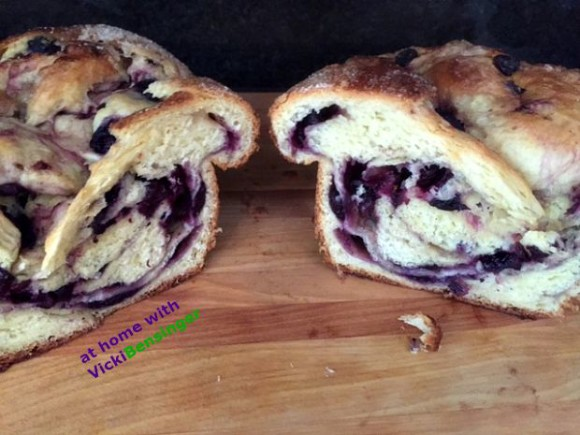 Fresh Blueberry Brioche