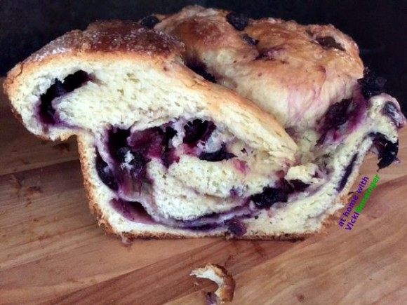 Fresh Blueberry Brioche 5b