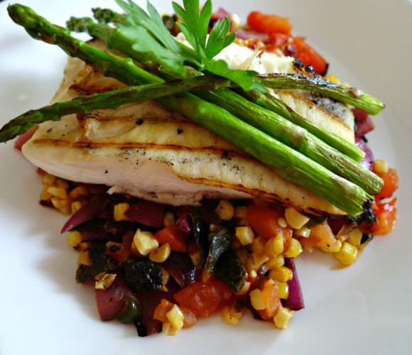 Grilled Halibut 1