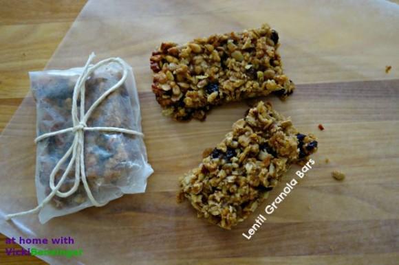 Lentil Granola Bars 1