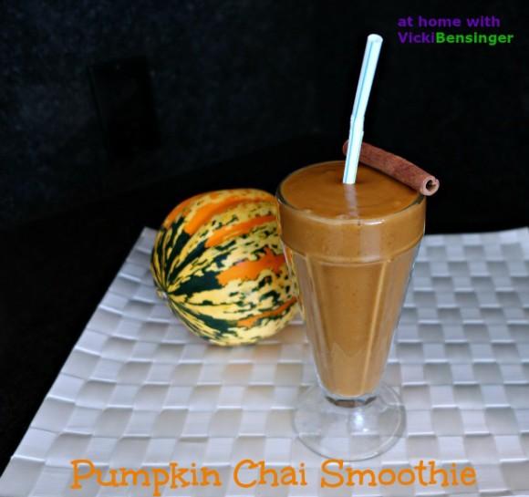 Pumpkin Chai Smoothie