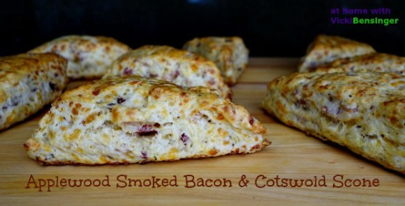 Applewood Smoked Bacon Scone