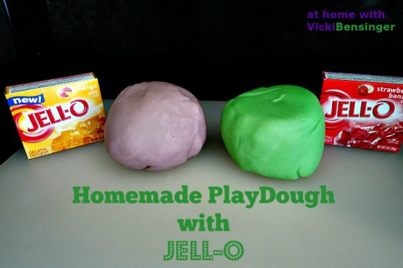 Homemade PlayDough 1