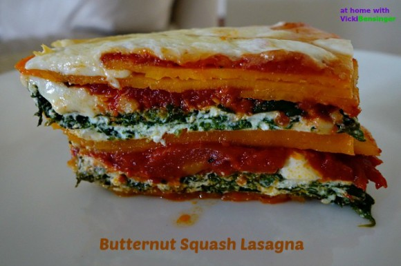Butternut Squash Lasagna 1