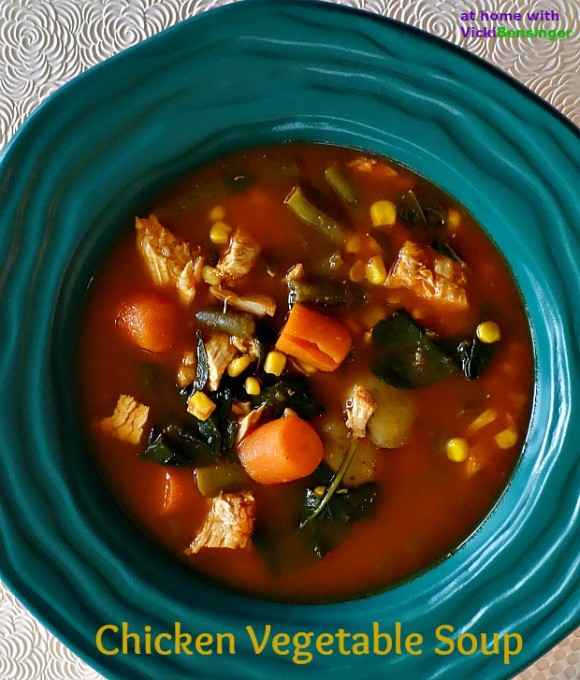 Chicken Vegetable Soup Made Easy 4