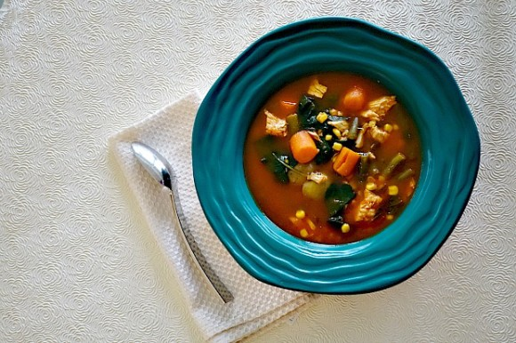 Chicken Vegetable Soup Made Easy