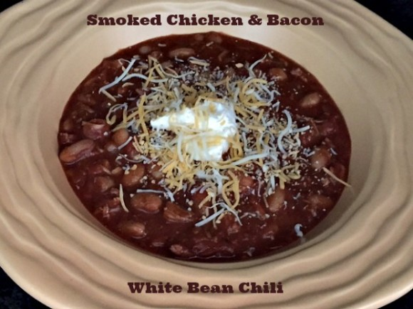 Smoked Chicken and Bacon White Bean Chili 15a