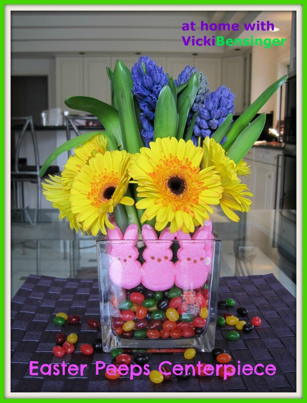 Easter Peeps Centerpiece 1a