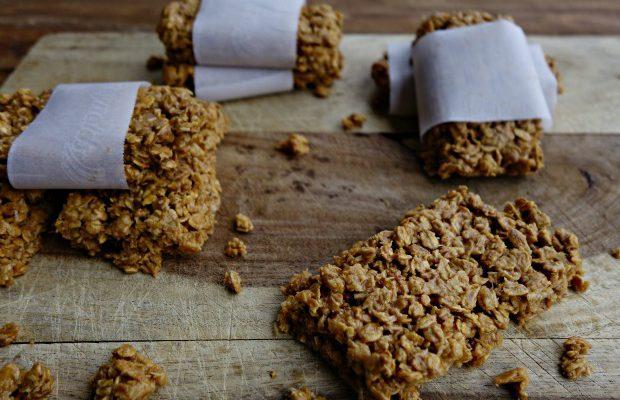 Peanut Butter Coconut Granola Bars