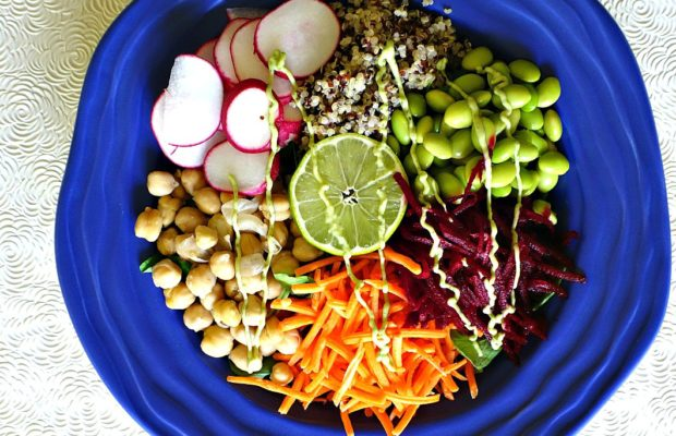 Healthy SuperFood Buddha Bowl