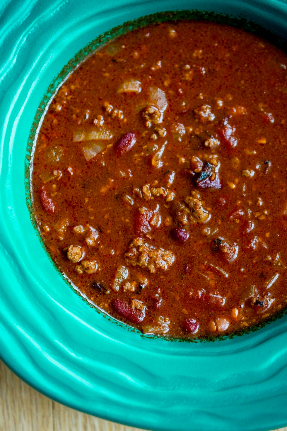 All Beef Chili with Espresso