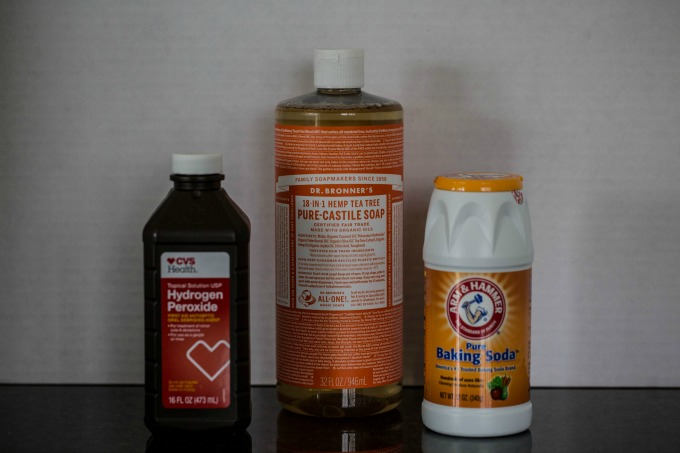 Homemade Natural Grout Cleaner - At