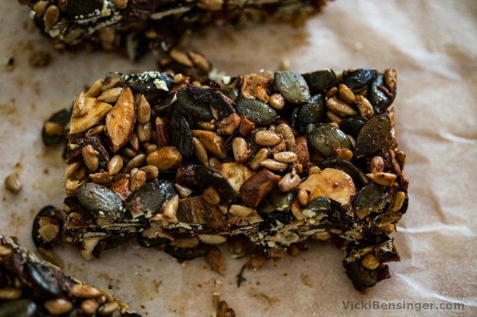 Seed & Date Power Bars