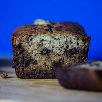Super Moist Banana Bread with Chocolate Chips