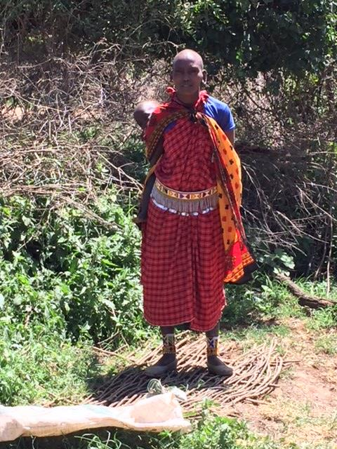 Maasai Village women